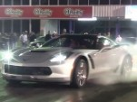 2015 Chevrolet Corvette Z06 burnout