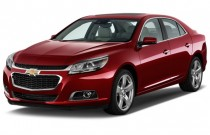 2015 Chevrolet Malibu 4-door Sedan LTZ w/1LZ Angular Front Exterior View