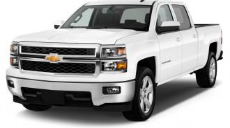 "2015 Chevrolet Silverado 1500 2WD Crew Cab 143.5"" LT w/1LT Angular Front Exterior View"