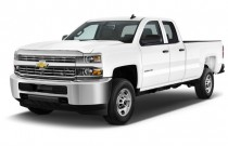 "2015 Chevrolet Silverado 2500HD 2WD Double Cab 144.2"" Work Truck Angular Front Exterior View"
