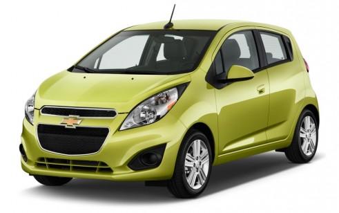 2015 Chevrolet Spark vs Mitsubishi Mirage, MINI Cooper, Scion iQ, smart fortwo, FIAT 500 - The ...