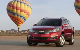 GM Stops Sale Of 2015 Buick Enclave, Chevrolet Traverse, GMC Acadia In Wake Of Goodyear Recall