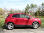 2015 Chevrolet Trax LT AWD, Catskill Mountains, NY, Apr 2015