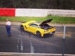2015 Chevy Corvette Z06 crashed at the Nürburgring