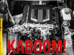 2015 Chevy Corvette Z06 engine blown. Image via Corvette Forum.