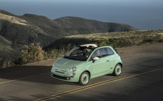 2015 Fiat 500c 1957 Edition Cabrio: Retro Style From $24,700