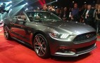 2015 Ford Mustang Convertible Debuts Alongside Fastback Coupe: New Photos