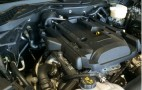 This Is The 2015 Mustang EcoBoost Engine: Underhood Shot