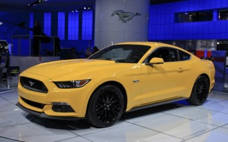 2015 Ford Mustang Video: 2014 Detroit Auto Show