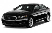 2015 Ford Taurus 4-door Sedan SHO AWD Angular Front Exterior View