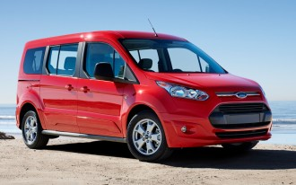 2015 Ford Transit Connect Wagon Earns Five-Star Safety Rating