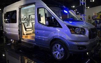 Ford Transit Skyliner Concept Is The New York Auto Show's Party Van