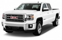 "2015 GMC Sierra 1500 2WD Crew Cab 143.5"" SLE Angular Front Exterior View"