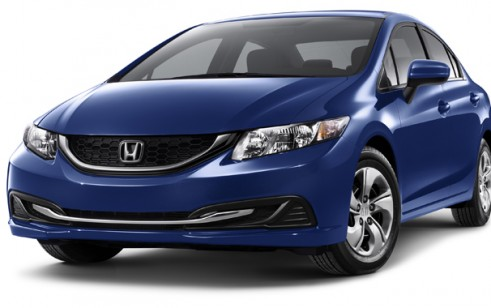 2015 Honda Civic Vs Chevrolet Cruze Ford Focus Hyundai