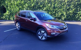 2015 Honda CR-V Touring: Quick Drive