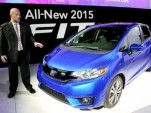 2015 Honda Fit at 2014 Detroit Auto Show