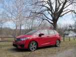 2015 Honda Fit, test drive around Ann Arbor, Michigan, Apr 2014