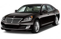 2015 Hyundai Equus 4-door Sedan Ultimate Angular Front Exterior View
