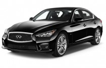 2015 Infiniti Q50 4-door Sedan Sport RWD Angular Front Exterior View