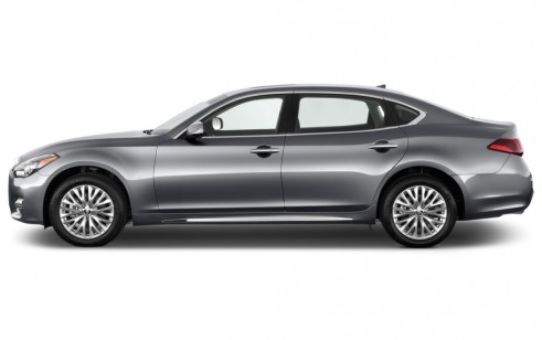 2017 Infiniti Q70l 4 Door Sedan V6 Rwd Side Exterior View