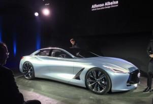 2015 Infiniti Q80 Inspiration Concept  -  Paris Auto Show (private event)