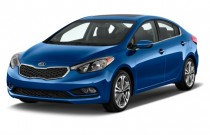 2015 Kia Forte 4-door Sedan Auto EX Angular Front Exterior View