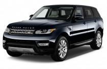 2015 Land Rover Range Rover Sport 4WD 4-door SE Angular Front Exterior View
