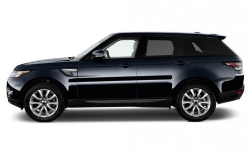 2015 Land Rover Range Rover Sport 4WD 4-door SE Side Exterior View