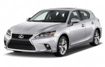 2015 Lexus CT 200h 5dr Sedan Hybrid Angular Front Exterior View