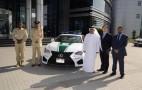 Lexus RC F Added To Dubai Police Fleet