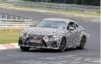 2015 Lexus RC F (IS F Coupe) Spy Shots