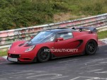 2015 Lotus Elise S Cup R road car spy shots