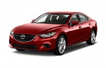 2015 Mazda MAZDA6 4-door Sedan Auto i Touring Angular Front Exterior View