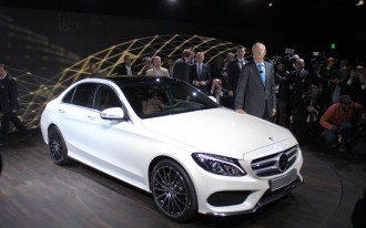2015 Mercedes-Benz C-Class First Look Video: 2014 Detroit Auto Show