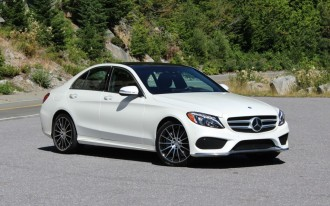 2015 mercedes benz c class first look video 2014 detroit for Mercedes benz c 330
