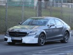 2015 Mercedes-Benz CLS63 AMG facelift spy shots