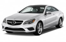 2015 Mercedes-Benz E Class 2-door Coupe E400 RWD Angular Front Exterior View