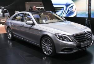 2015 Mercedes-Benz S600 live photos, 2014 Detroit Auto Show