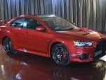 2015 Mitsubishi Lancer Evolution Final Edition #001 - Image via Brooklyn Mitsubishi