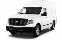 2015 Nissan NV High Roof 2500 V8 S Angular Front Exterior View