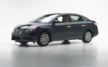 2015 Nissan Sentra  -  IIHS testing