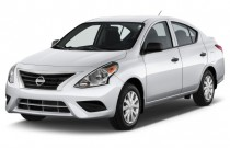 2015 Nissan Versa 4-door Sedan CVT 1.6 SV Angular Front Exterior View
