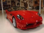 2015 Panoz Esperante Spyder GT prototype on Jay Leno's Garage screencap
