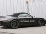 2015 Porsche 911 Carrera GTS Cabriolet spy shots