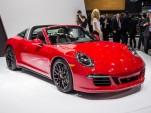 2015 Porsche 911 Targa 4 GTS live photos, 2015 Detroit Auto Show