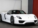 Brand new Porsche 918 Spyder for sale with Weissach package