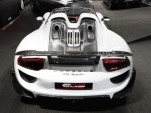 Brand new Porsche 918 Spyder for sale with Weissach package