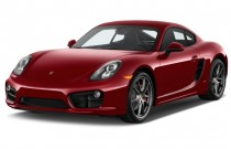 2015 Porsche Cayman 2-door Coupe S Angular Front Exterior View