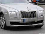 2015 Rolls-Royce Ghost facelift spy shots