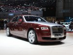 2015 Rolls-Royce Ghost Series II  -  2014 Geneva Auto Show live photos